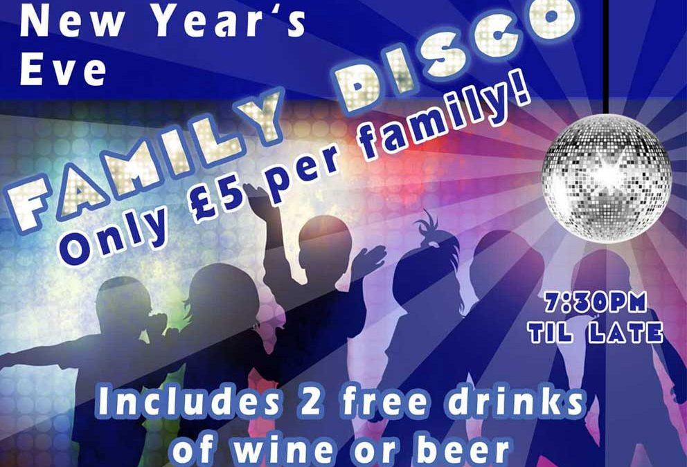 New Year's Eve Family Disco 2017