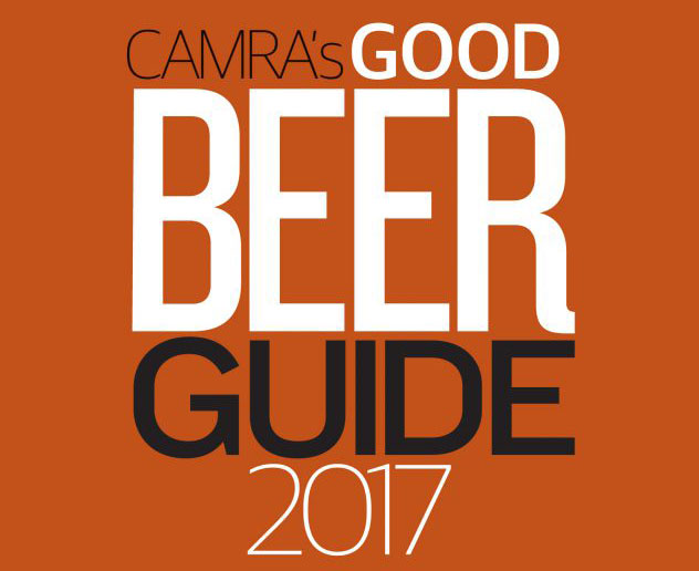 We're In The CAMRA Good Beer Guide 2017