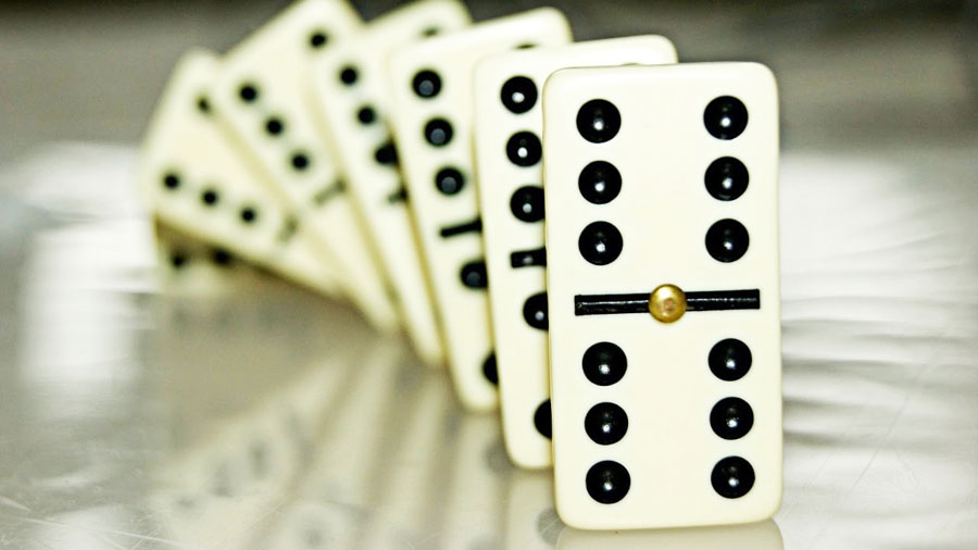 Enjoy playing dominoes at St Annes CC