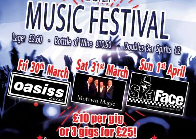 St Annes CC Music Festival Easter Weekend 2018