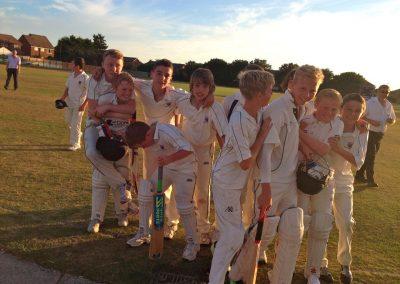 U13A 2013 St Annes Cricket Club junior cricketers