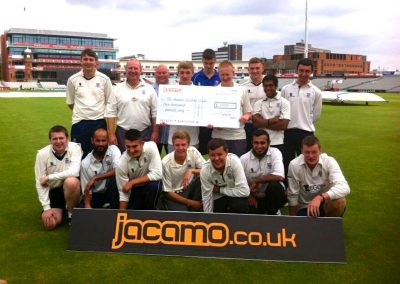 t Annes CC Jacamo Competition winners prize day out 2013