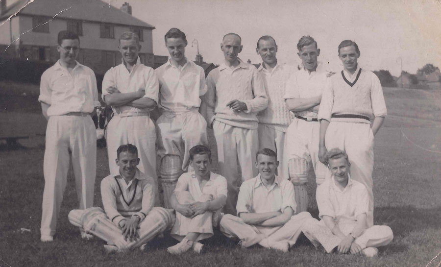 St Annes YMCA CC playiing in Bradford in 1938