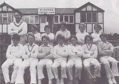 U13s juniors 1980 St Annes CC
