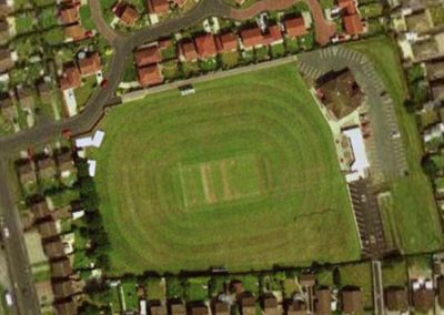 Aerial photo of St Annes CC grounds
