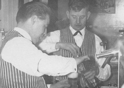 St Annes CC bar staff 1950s