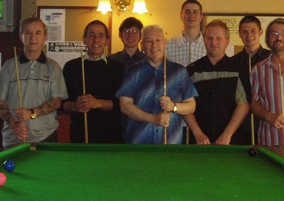 St Annes CC snooker team 2005