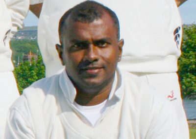 Professional player Dinuk Hettiarachchi in 2011