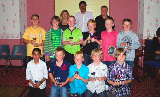 St Annes CC U10s 2010 Team Make League History!