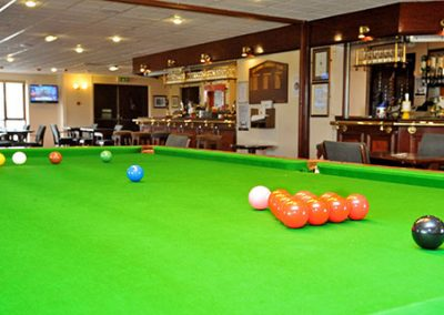 Play snooker at St Annes Cricket Club