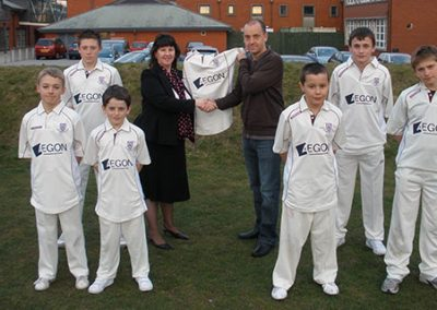 AEGON St Annes CC sponsors in 2009