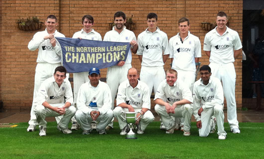 St Annes CC 1st XI Northern Premier Cricket League Champions 2011