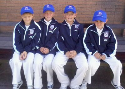 St Annes CC U9 players selected for District Team 2012