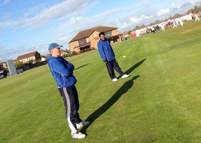Junior cricket coaches 2013 Neil Bradley & Javid Iqbal - St Annes CC