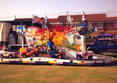 St Annes CC funfair at the Beer Festival 2013