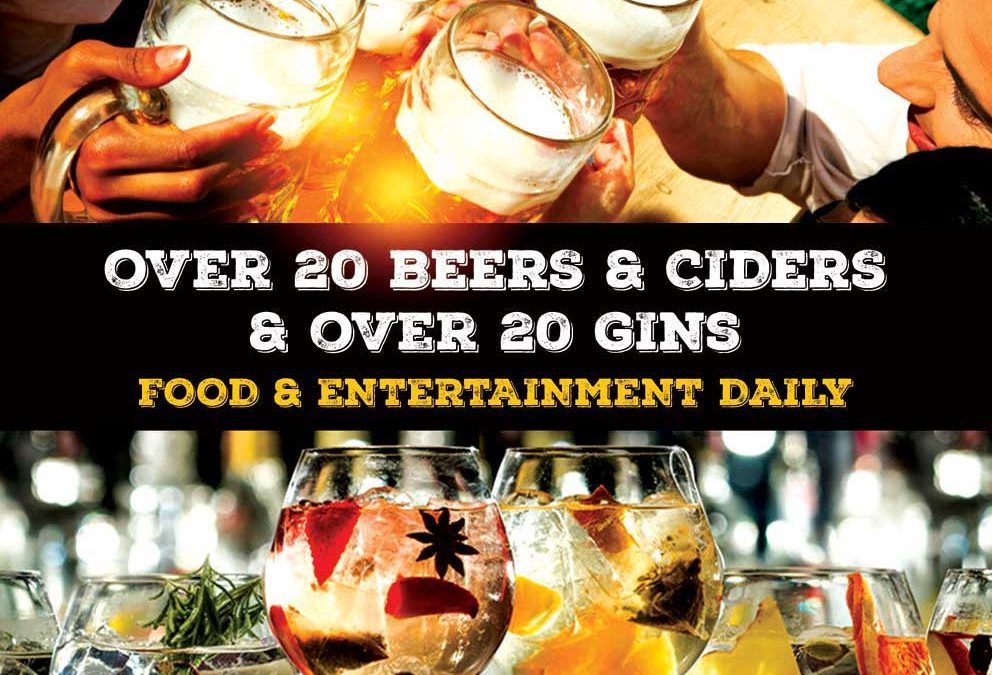 Beer & Gin Festival May 2018!