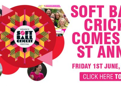 Take part & have fun at the St Annes CC Womens Softball Festival 1 June 2018