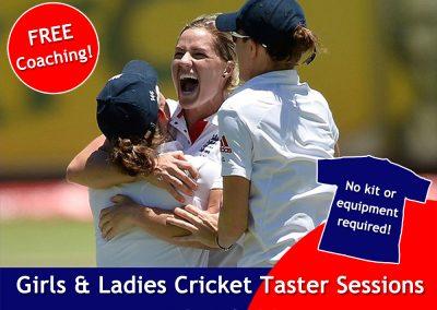 FREE women & girls cricket coaching at St Annes Cricket Club