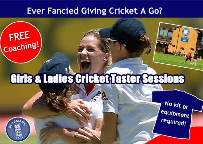 Women & Girls cricket coaching & FREE taster sessions at St Annes Cricket Club