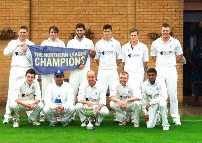 St Annes CC 1st XI Northern Premier League Champions 2011