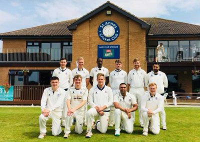 1st XI 2018 St Annes CC - Capt Nathan Armstrong
