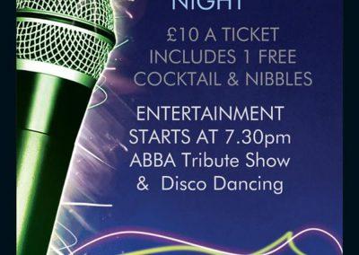 ABBA Tribute Night Fri 17 Nov 2017 at St Annes CC