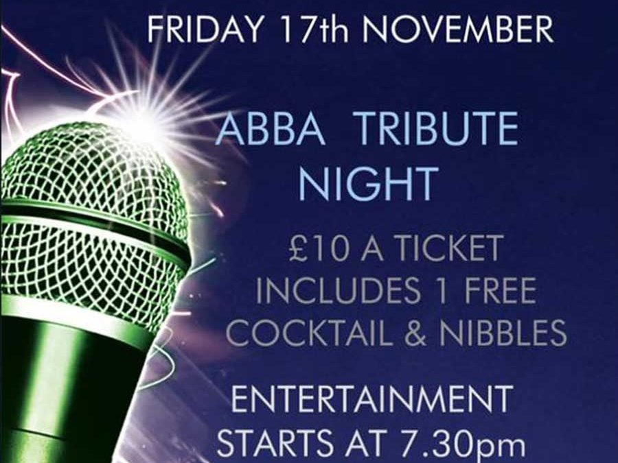 ABBA Tribute Night 2017