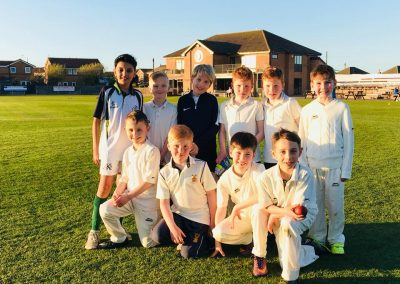All Stars Graduates pre season training 2018 - 1st ever team photo - St Annes CC