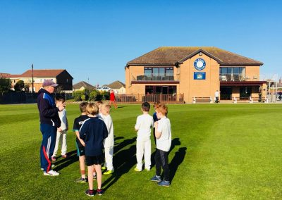 All Stars Graduates pre season training 2018 Neil Bradley coaching - St Annes CC