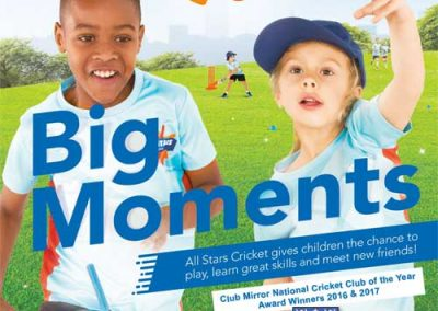 Register for All Stars Cricket 2018 at St Annes CC Lytham St Annes Lancashire