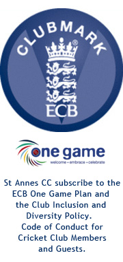 We subscribe to the ECB One Game Plan & the Club Inclusion & Diversity Policy Code of Conduct for Cricket Club Members & Guests