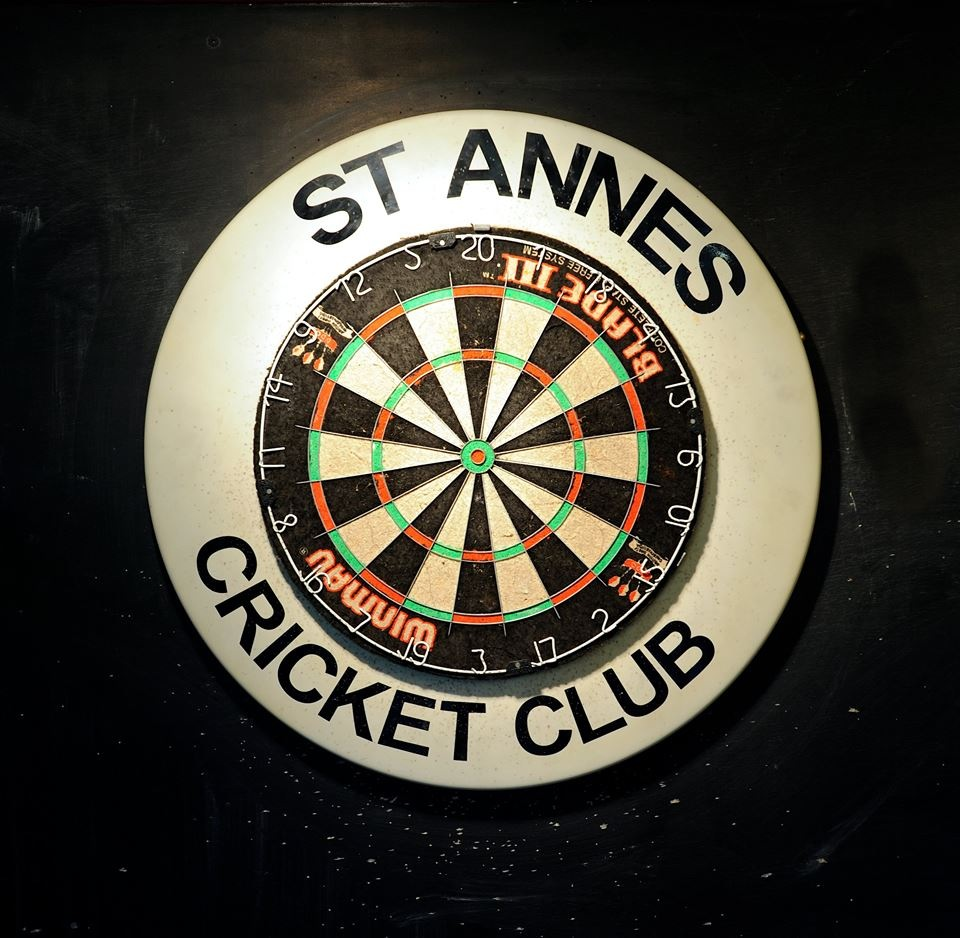Play darts or join a darts team at St Annes Cricket Club
