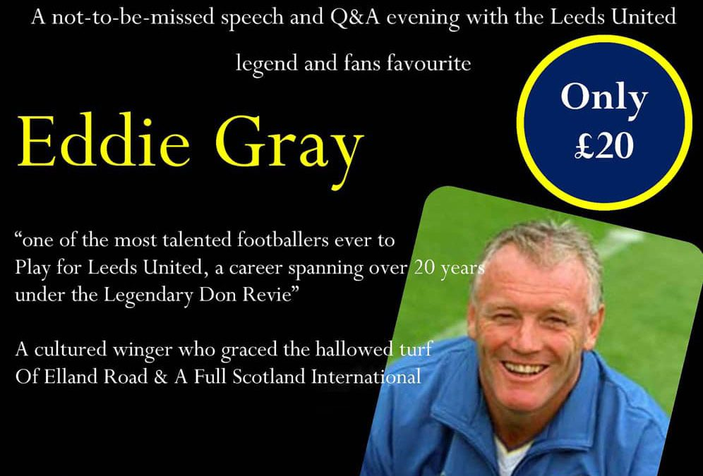 An Evening With… Leeds UTD Legend Eddie Gray