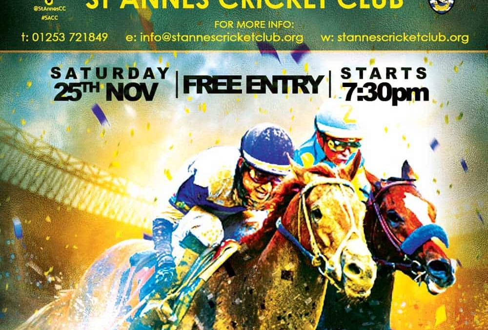 Race Night – FREE Entry!