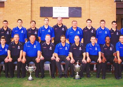 2005, what a year! Our 1st & 2nd XI became both Div 1 & Div 2 Northern Premier Cricket League Champions!