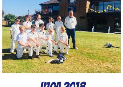 U10A 2018 St Annes CC - Manager Neil Bradley