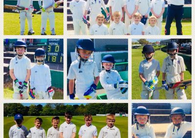 U10B 1st ever match 13 May 2018 winning v Chorley - 7 All Star Graduates - St Annes CC
