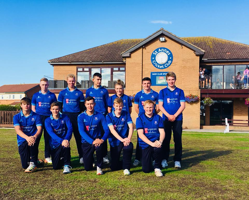 U19 St Annes Cannons T20 squad 2018