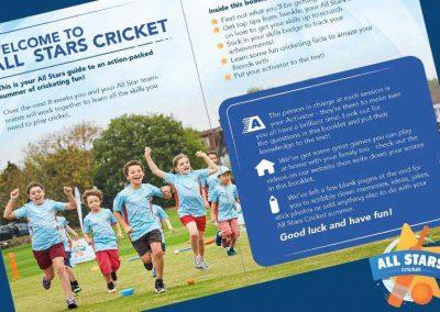 All Stars Cricket Activity & Sticker Book 2018