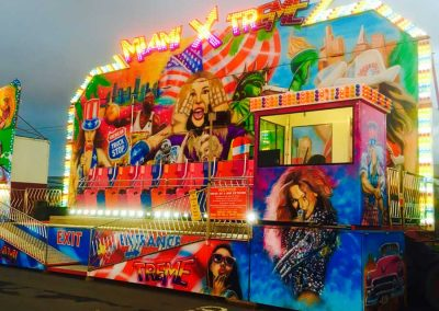 Miami Extreme ride at the St Annes CC Firework Extravaganza