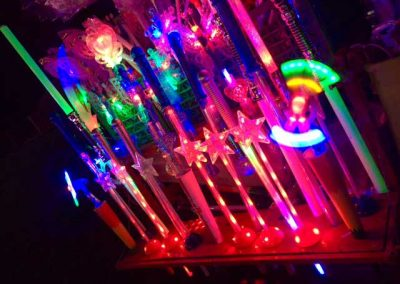 Glow sticks & gifts for your 'ickle ones at our firework display