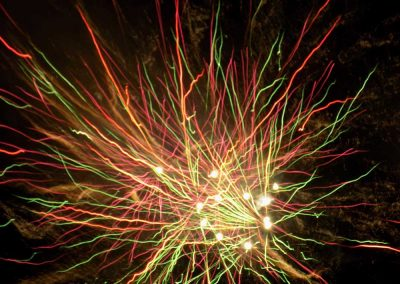 Spectacular fireworks a our Firework Extravaganza