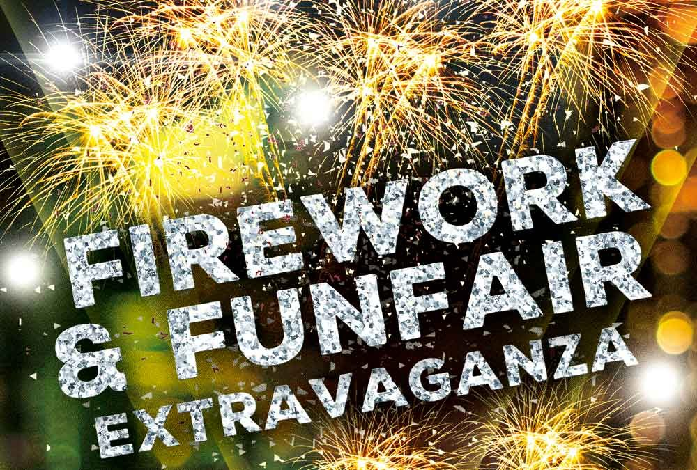 Fireworks & Funfair Extravaganza 2018 - firework display St Annes Cricket Club