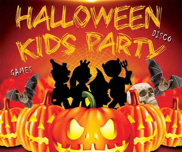 SPOOKY FUN! Kids Halloween Party – Sun 27 Oct 2019