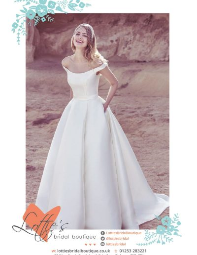Lotties Bridal Boutique sponsors St Annes CC
