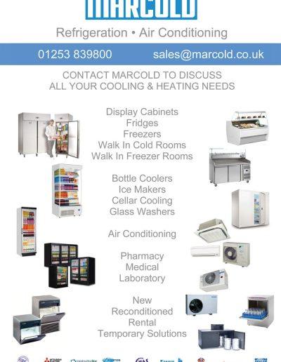 Marcold sponsors St Annes CC