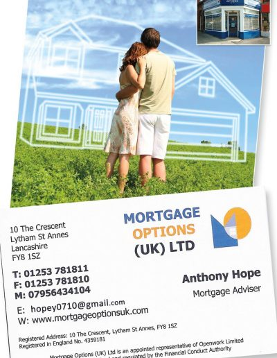 Mortgage Options UK Ltd sponsors St Annes CC