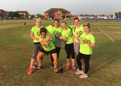 Womens Softball Cricket Festival beauty salon team 1 June 2018 - St Annes CC
