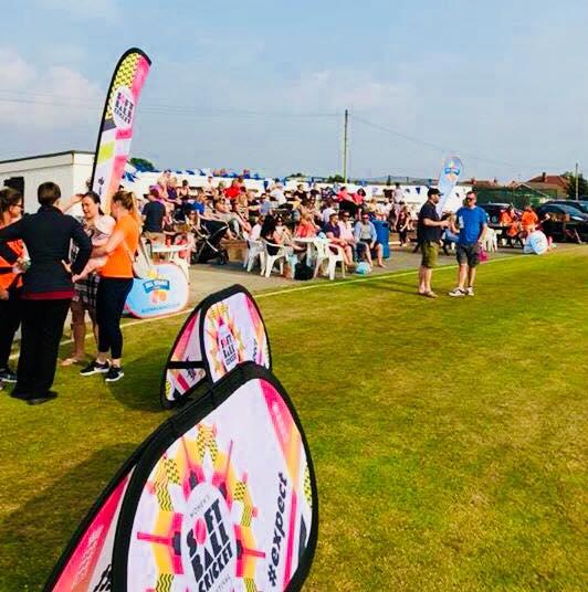 Womens Softball Cricket Festival families & spectators 1 June 2018