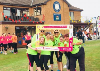 Womens Softball Cricket Festival team green 1 June 2018 - St Annes CC
